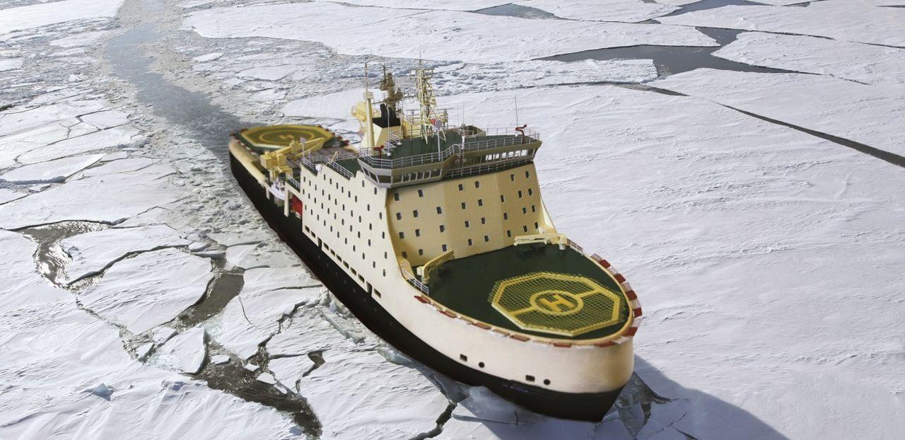 СКУД от АО «МНС» установят на ледоколе  «Виктор Черномырдин»